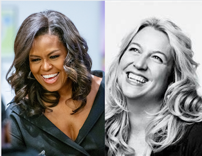 Michelle Obama and Cheryl Strayed