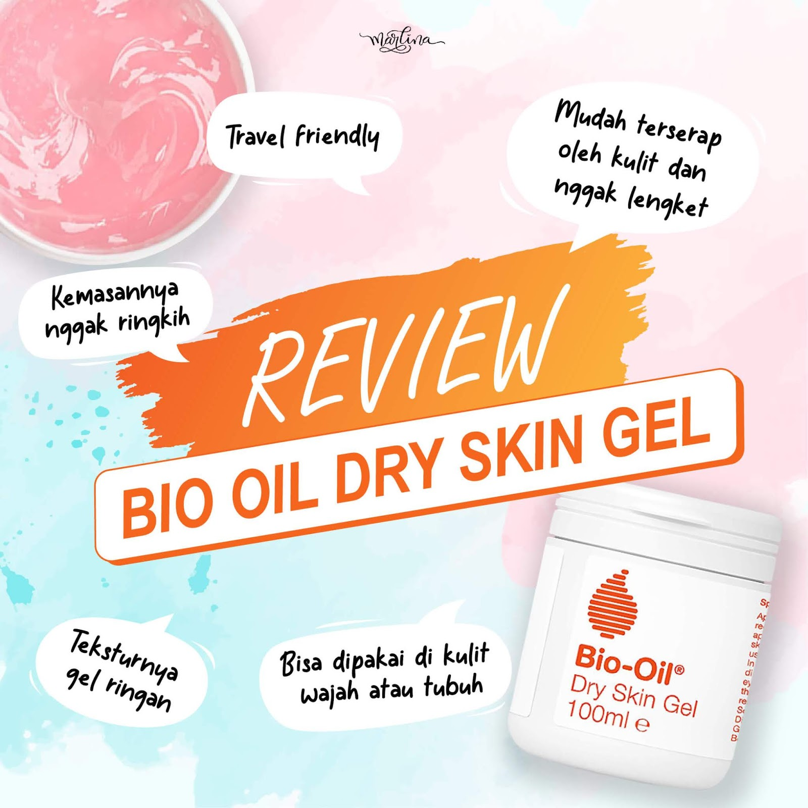 Review Bio Oil Dry Skin Gel