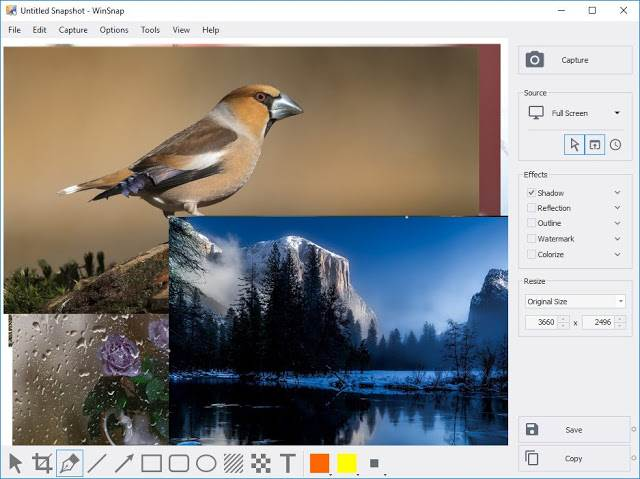 Screenshot WinSnap 5.1.4 Full Version