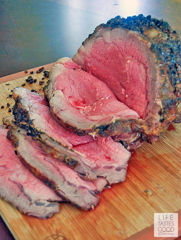 Cooking a Prime Rib Roast doesn't have to be intimidating. I know it is scary to spend so much money and then have something go horribly wrong, but if you have a friend to help you, you'll have perfect roast beef that makes a beautifully impressive meal!
