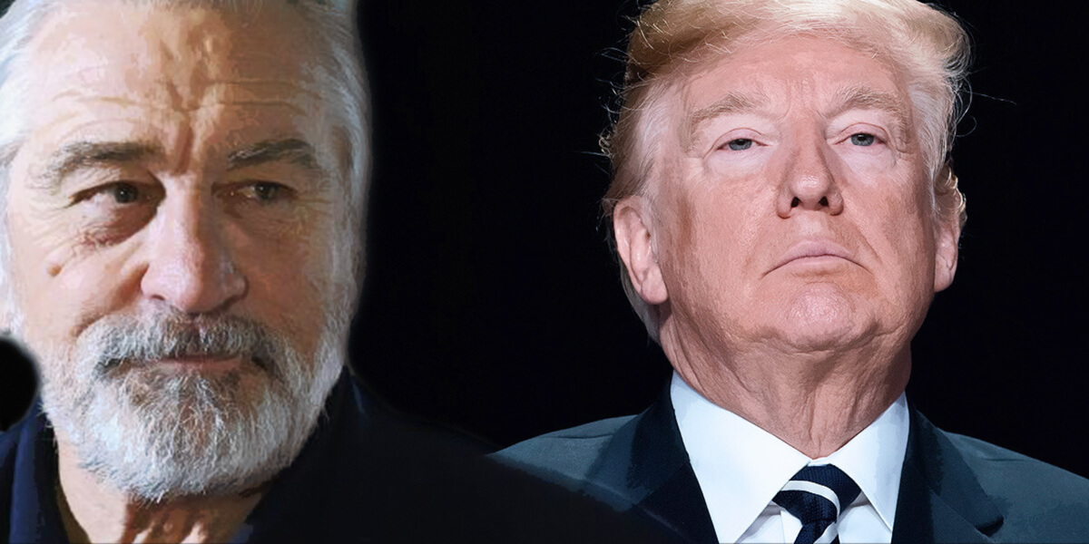 Robert De Niro Confronts Donald Trump America Is 'Suffering From A Case Of Temporary Insanity'