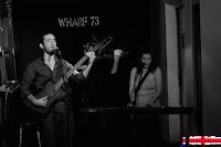 Raúl J. Sanchez y Andrea Lucía en Wharf 73