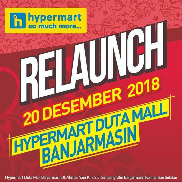 #Hypermart - Promo Relaunch Hypermart Mall Duta Banjarmasin (HARI INI)