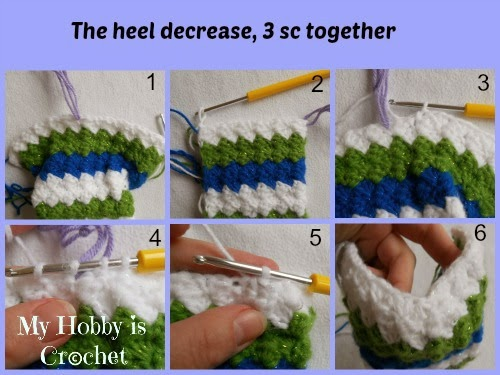 Little Elf Slippers -  Free Crochet Pattern with Tutorial