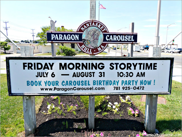 Paragon Carousel en Nantasket Beach, Hull