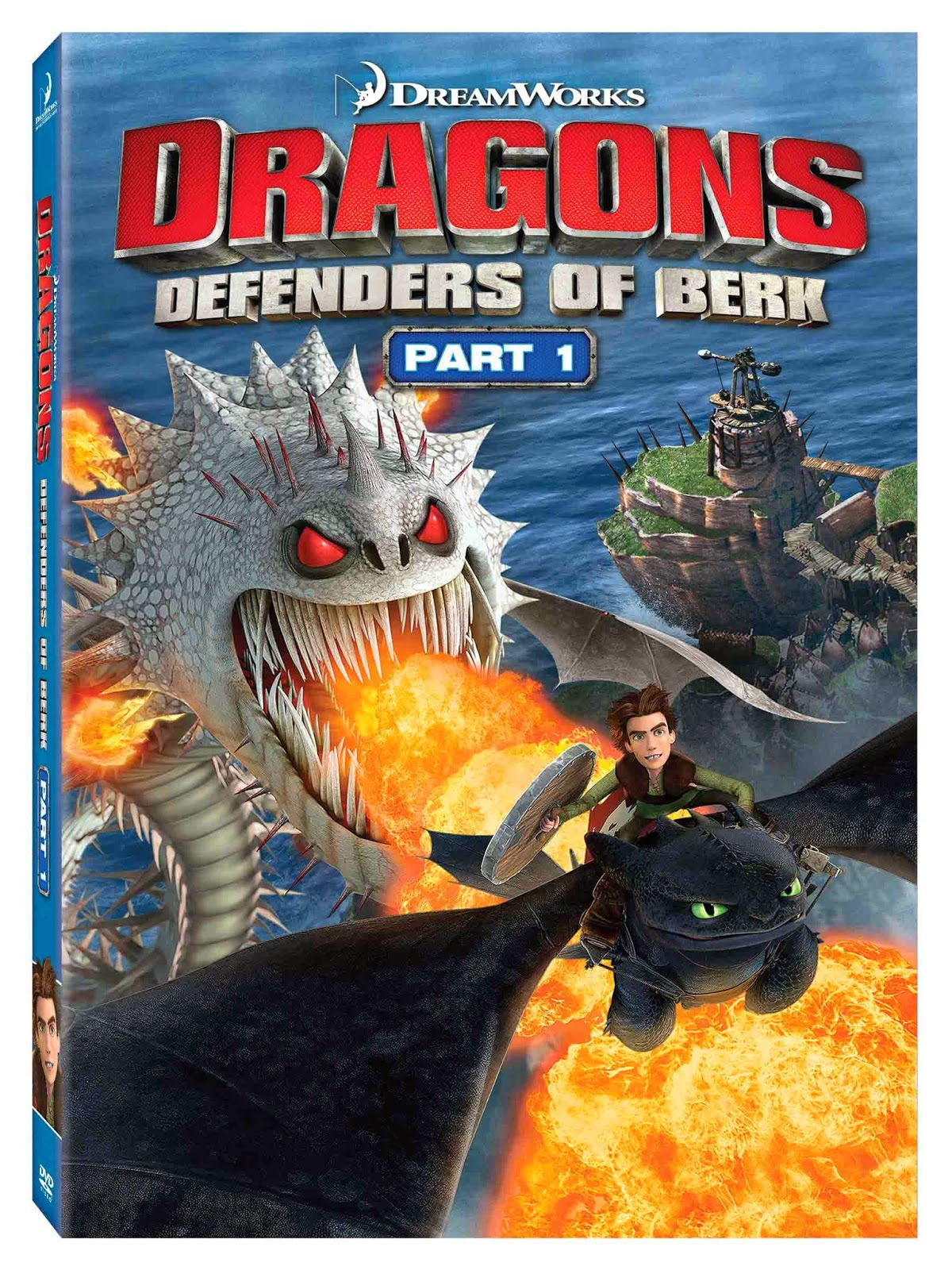 DVD Review -  DreamWorks Dragons: Defenders Of Berk - Part 1