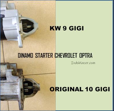 dinamo starter chevrolet Optra original dan kw