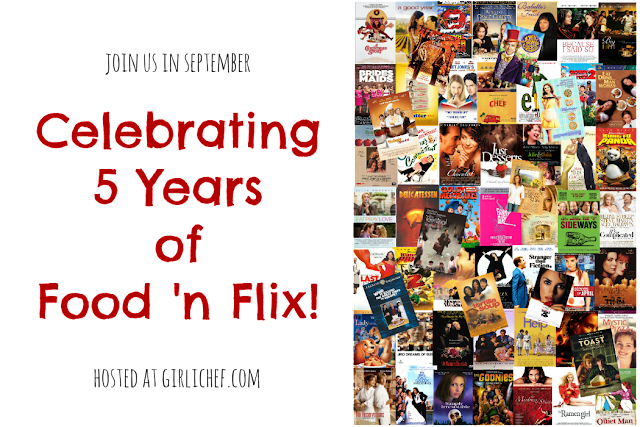 This month marks the 5-year anniversary of the Food 'n Flix Club. Join us for a celebration of food in film this September!
