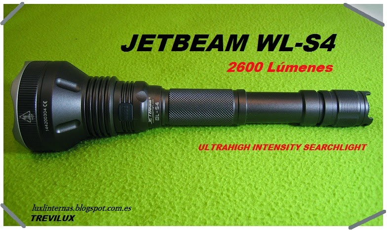 review JETBeam WL-S4 luxlinternas.blogspot.com.es