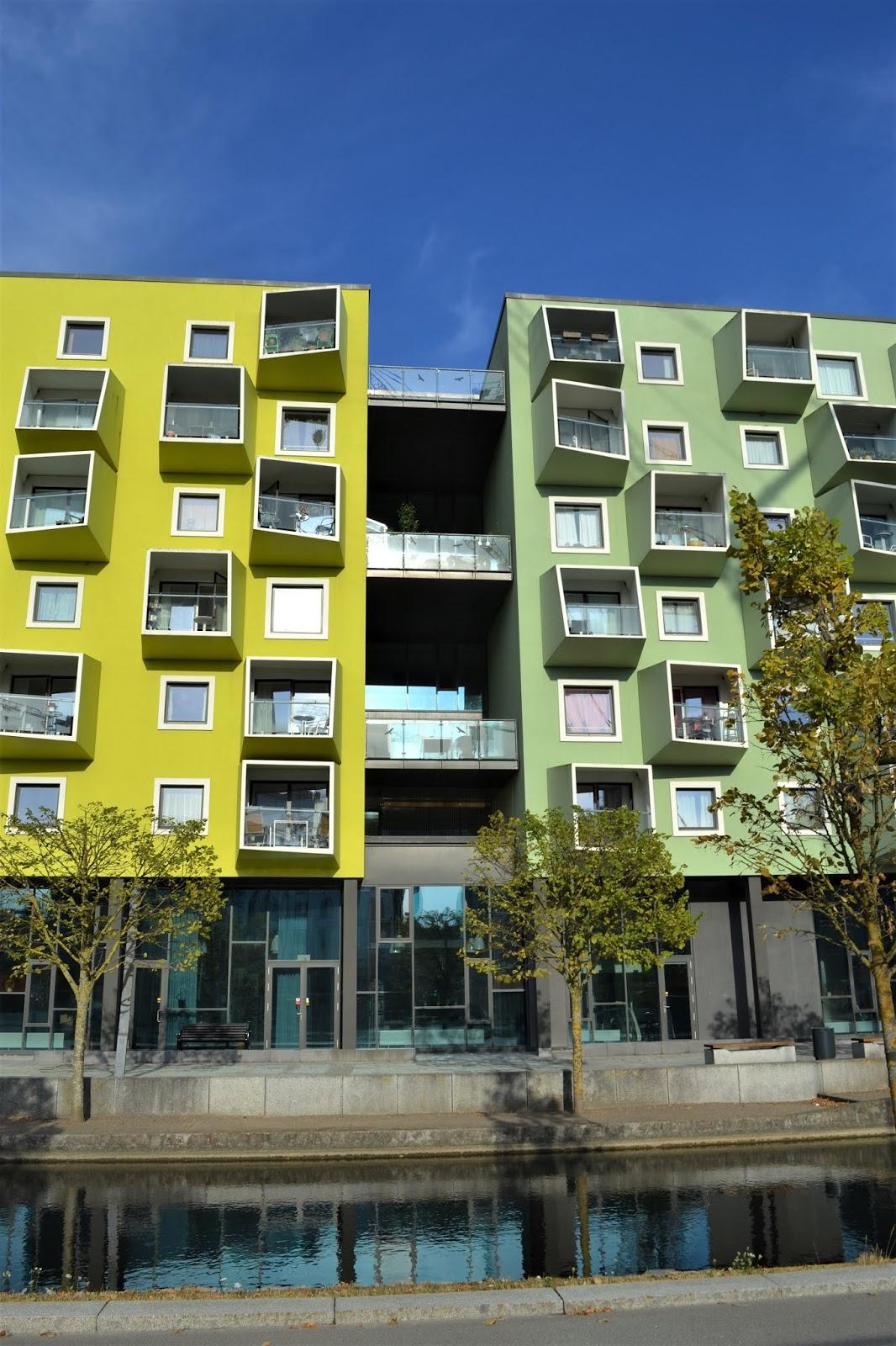 architettura moderna a orestad