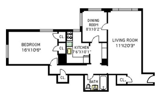 Image Result For Desain Dapur Apartemen