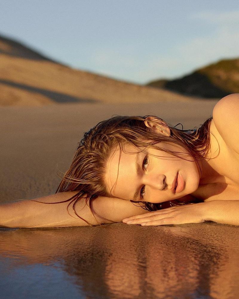 Anna Ewers stars in Jil Sander Sun perfume campaign