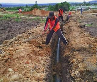 Dukung Pengembangan Food Estate Humbuhas, Kemen-PUPR Lanjutkan Pembangunan Irigasi dan Jalan Akses