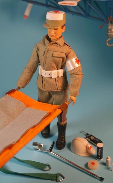 Madelman tropa de socorro de la Cruz Roja