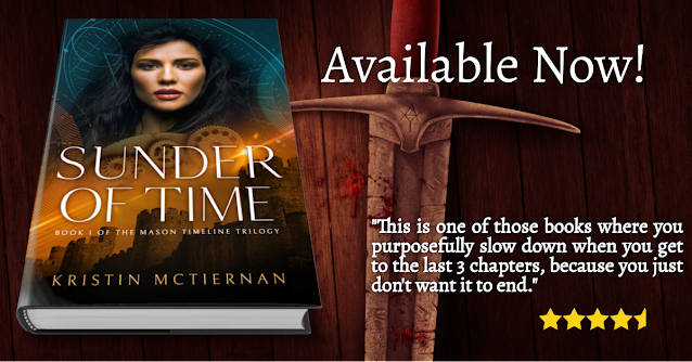 Sunder of Time Book Cover & Review