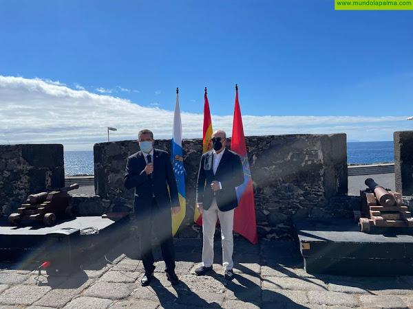 El Ayuntamiento de Santa Cruz de La Palma asume la titularidad del 22 por ciento del Castillo de Santa Catalina