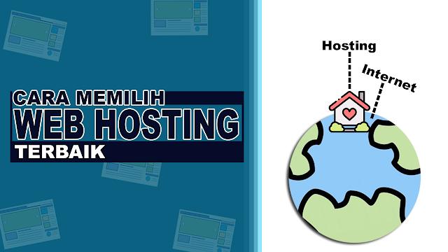 Cara memilih web hosting yang baik