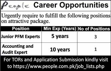 People Career Opportunities
