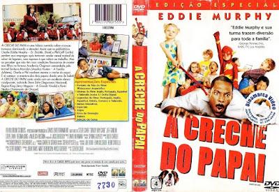 Filme A Creche do Papai 2003 (Daddy Day Care) DVD Capa