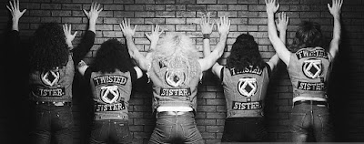 Twisted Sister assuming the position! Cool pic.