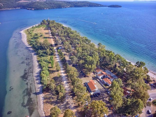 CAMPING DREPANOS: Ένα στολίδι στις ακτές του Ιονίου
