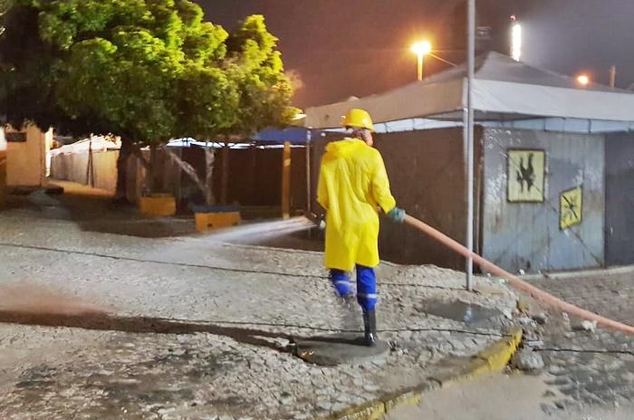 Prefeitura de Juazeiro realiza trabalho de desinfecção na área do Camelódromo - Portal Spy Noticias Juazeiro Petrolina