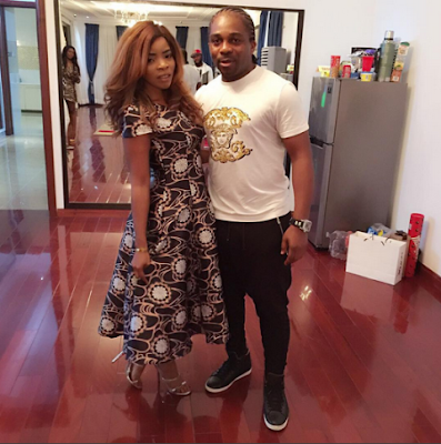 Laura Ikeji got engaged to her lover, Kanu Nwankwo's younger brother, Ogbonna