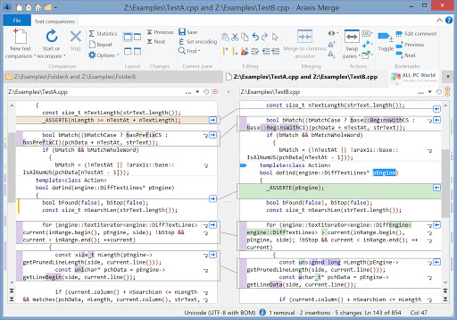 تحميل برنامج Araxis Merge 2020 Professional Edition لمقارنة الملفات والمجلدات ودمجها ومزامنتها
