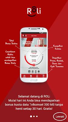 Cara Mendaftar di Aplikasi Roli Telkomsel