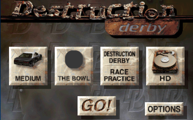 Zardo Games: Destruction Derby 1 PC Game MS-DOS Completo Full Download