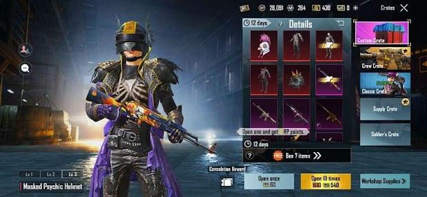 gun skins from crates