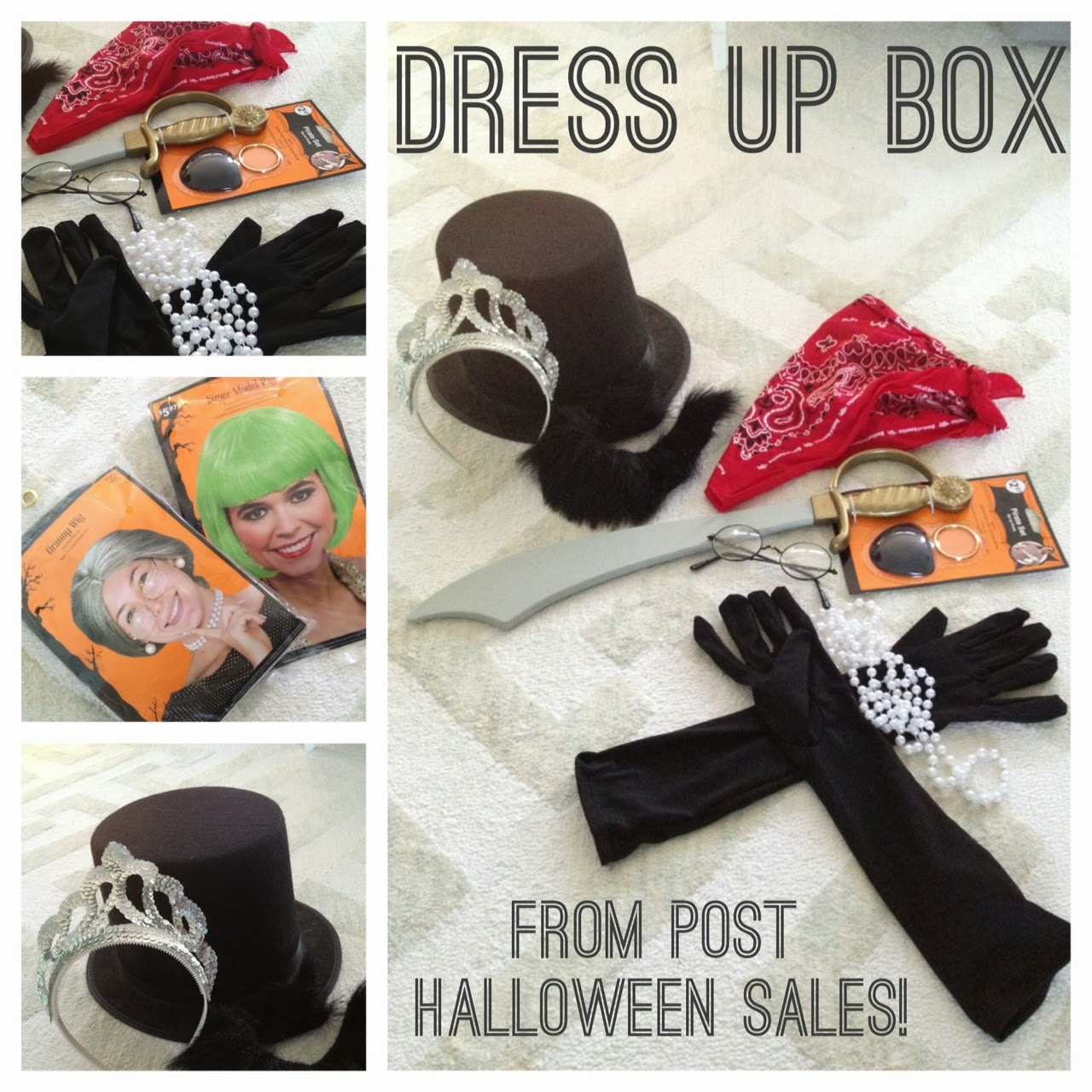 Crafty Teacher Lady February 2013: Crafty Teacher Lady: Dress Up Box: Post Halloween Sale Goodies
