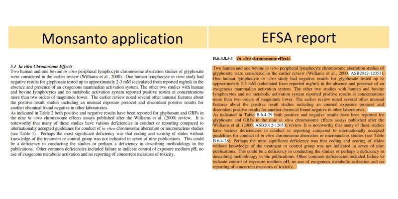 relatório da EFSA