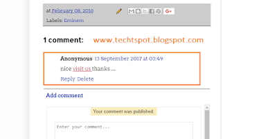 How To Post A Link In Blogger Comments 2
