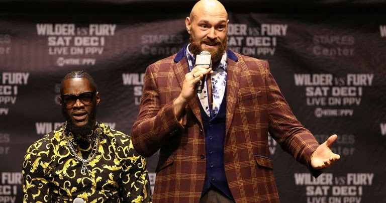 Tyson Fury - I'm Knocking Out Deontay Wilder, I Have 21 Of Them
