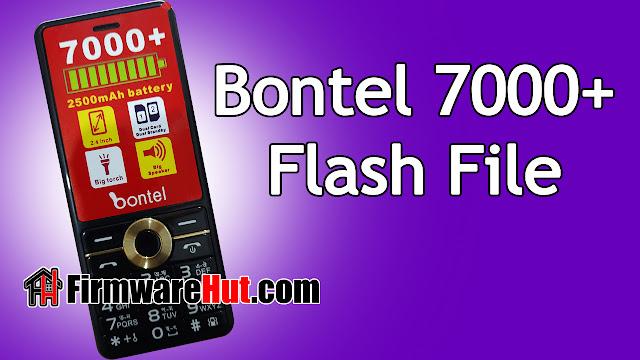 Bontel 7000+ Flash File SC6531E Tested (Stock Official Rom)