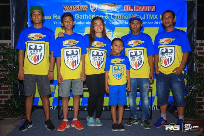 Assa Racing Adakan Gathering dan Launching Frame Terbaru JTMX Jogja