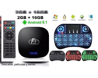 Oferta Combo TV Box + Teclado / Mouse
