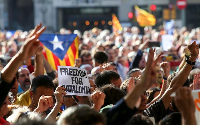 """Madrid acusa governo catalão de """"incitar rebelião"""""""