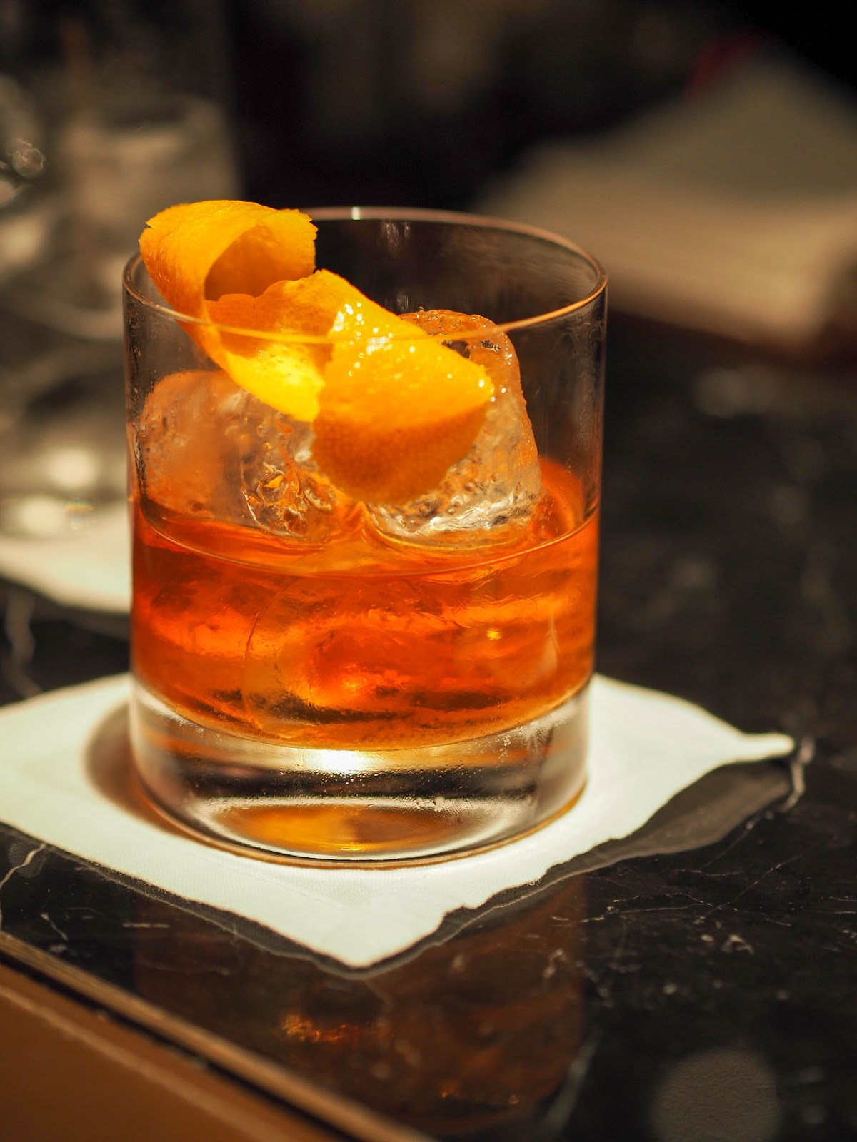 Old Fashioned at The Bar at The Peninsula Hong Kong