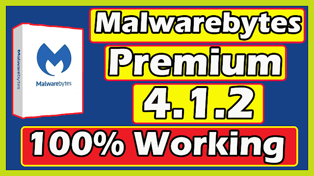 Download Malwarebytes Anti-Malware Premium 4.1.2 With Lifetime Activation 2020