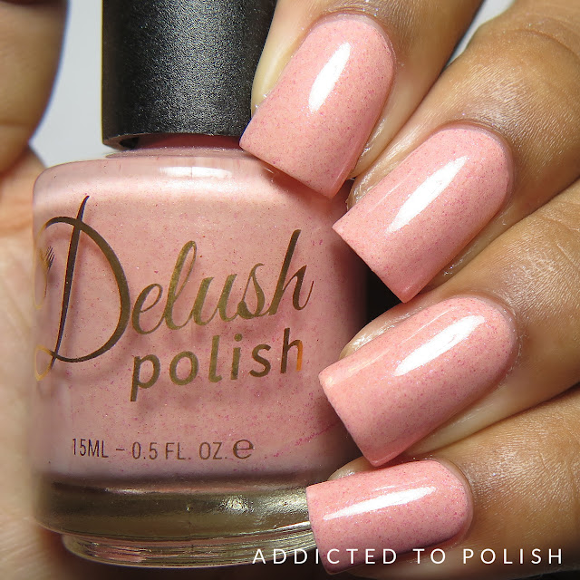 Delush Polish Beam Me Up Biscotti High and Mightea Spring 2016 swatches