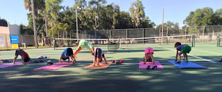 tennis and yoga in harmony
