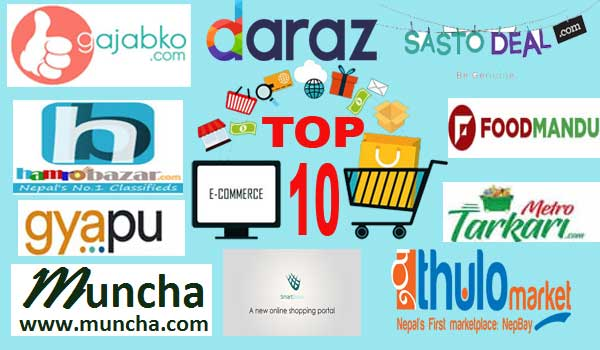 top 10 online shopping sites in Nepal