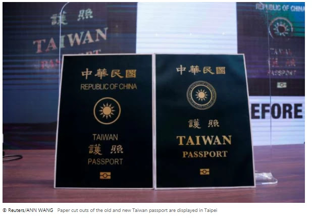 Taiwan will change its passport out of frustration with China
