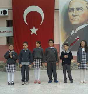 Atatürkün gençliğe hitabesi