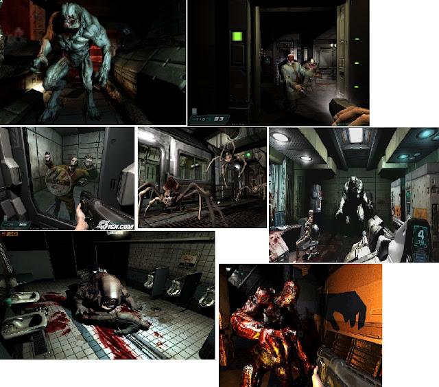 doom 3 jogo fps de terror survival