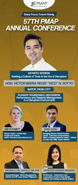 Mayor Vico Sotto and other local and international innovators joins 57th PMAP Annual Conference