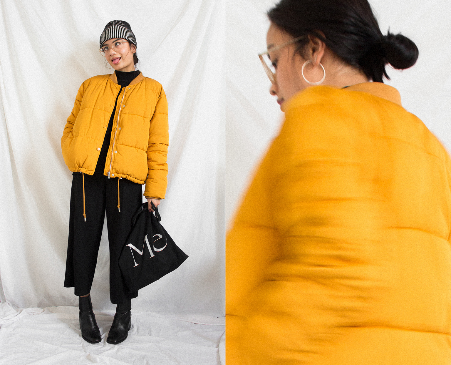 fashion, ootd, pull&bear, puffer jacket, doris dave