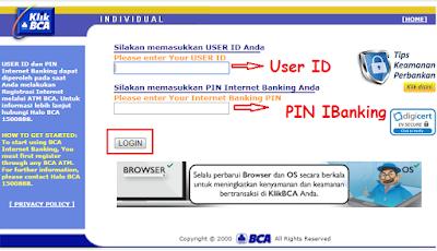 Blokir ATM BCA